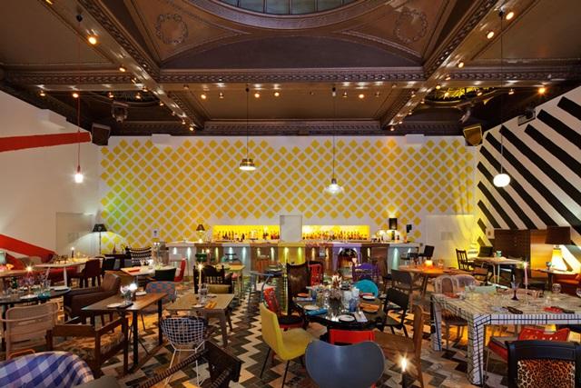 في لندن مطعم سكيتش 5RfSk
