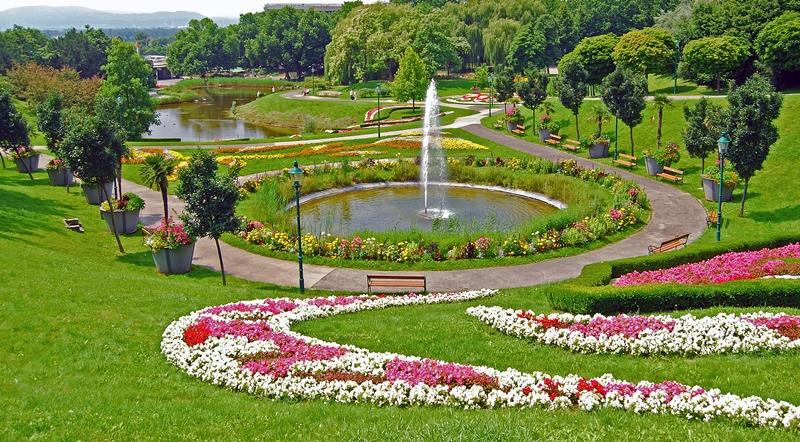 Image result for حديقة الزهور فيينا