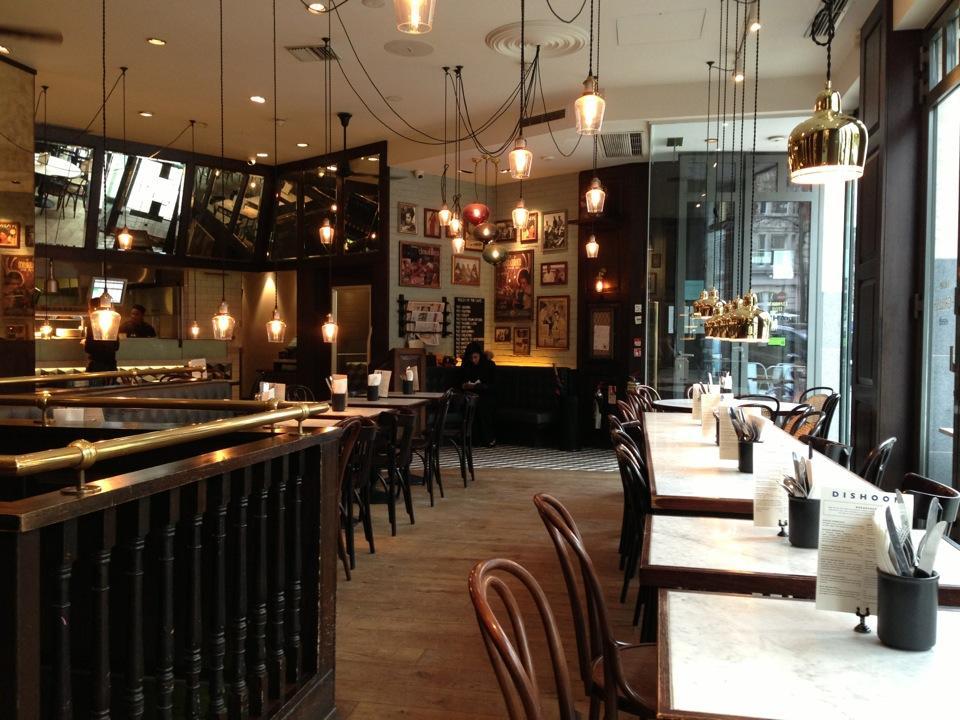 في لندن مطعم ديشوم  GialZ